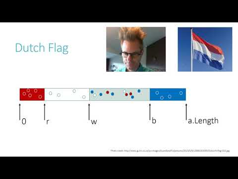 Basics of specification and verification: Lecture 3, the Dutch National Flag algorithm