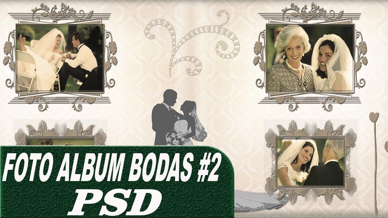 Pack plantillas PSD para crear FotoAlbum2 BODAS editables por capas ...
