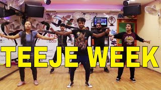 Teeje Week | Easy Bhangra Steps | Jordan Sandhu | Dance Choreography By Step2Step Dance Studio