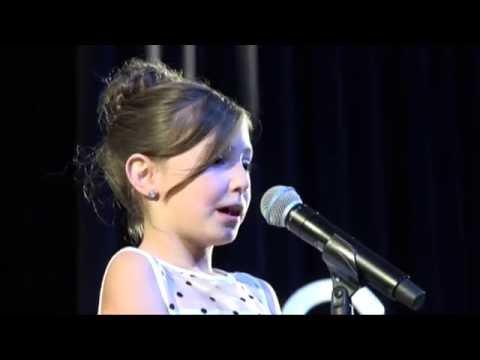 Kacee McGinnis 2nd Grade Talent Show 2016