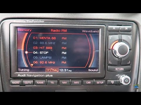 Audi MMI Navigation Plus Review