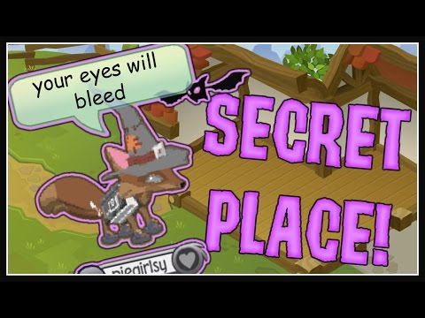 NEW SECRET PLACE IN ANIMAL JAM!