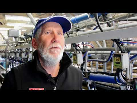 Energy audits and energy efficiency on dairy farms