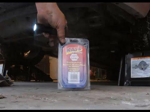 2012 Chevrolet Impala V6 block heater installation