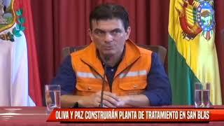 OLIVA Y PAZ CONSTRUIRÁN PLANTA DE TRATAMIENTO EN SAN BLAS
