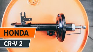 HONDA maintenance: free video tutorial