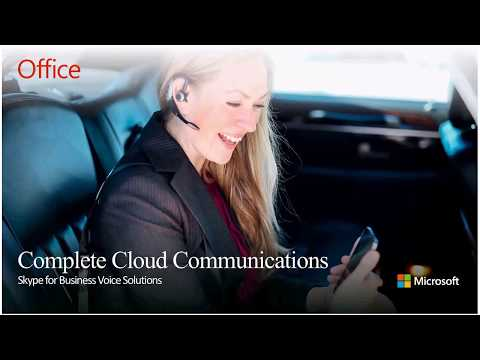 Complete Cloud Communications - Skype for Business Voice Services with Douglas Schlosser