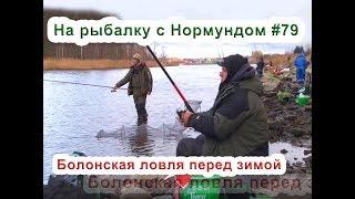 Болонская ловля перед зимой. На рыбалку с Нормундом #79