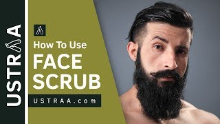 How To Use Face Scrub | De-Tans, Evens Skin Tone | USTRAA