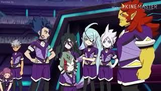 Inazuma eleven go galaxy Earth eleven Vs Pharam dite AMV