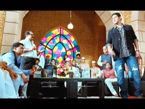Mahesh Babu Makes A Deal With Political Don - Bussiness Man Tamil Movie Scene