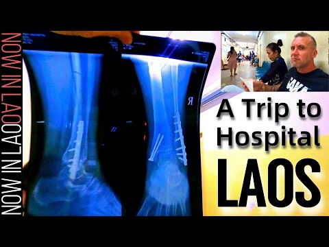 Vientiane Laos - A Trip to Hospital | Now in Lao