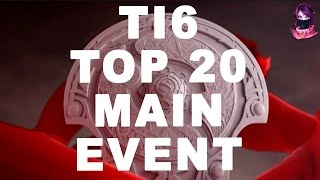 TOP 20 Dota 2 EPIC Moments and Atmosphere TI6 Highlights The International 6 #ti6