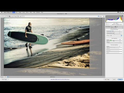how to open raw in photoshop cs4