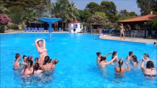 Hry v bazénu-všechny oddíly-všechny děti :-)