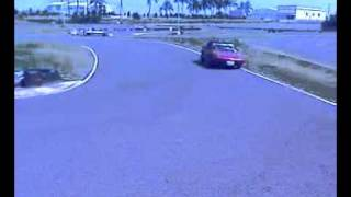 Fiat x-1/9 in Taiwan ANK racing circuit