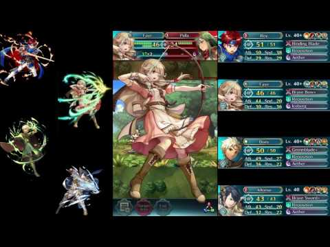 Fire Emblem Heroes: Advanced Deathless Arena Run - Boey and Alfonse Showcase