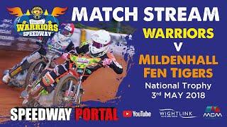 Isle of Wight 'Wightlink Warriors' vs Mildenhall 'Fen Tigers' : National Trophy : 03/05/2018