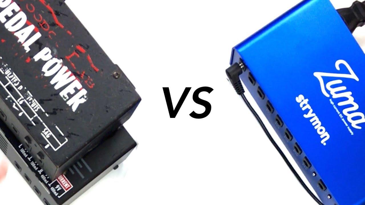 Voodoo Lab Vs Stymon Power Supply Noise Comparison Youtube
