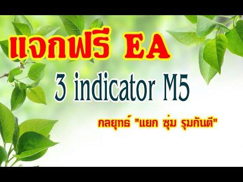 แจกฟรี !!! EA Forex 3 indicator M5 & Double cci and rsi oma
