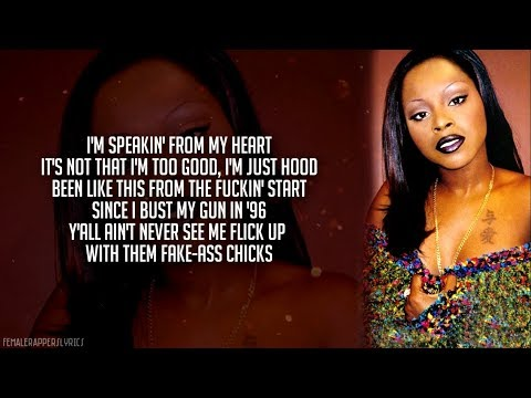 Foxy Brown - Oh Yeah (feat. Spragga Benz) [Lyrics - Video]