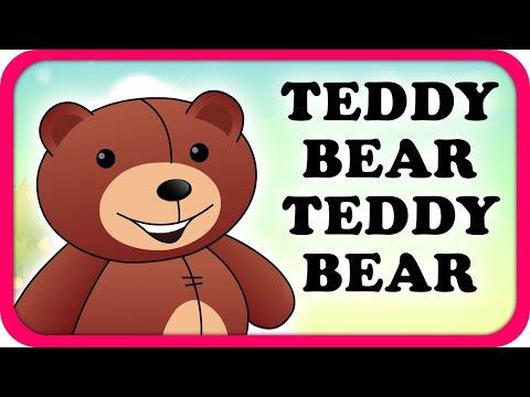 Teddy Bear Teddy Bear Lyrical Video | English Nursery Rhymes Full Lyrics For Kids & Children