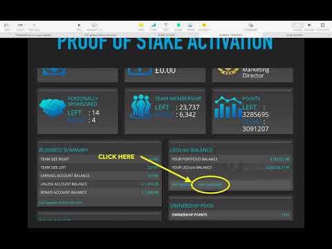 LEO Training 21st April 2019 , Ownership Points, LMS Extra, Leocoin, Proof Of Stake