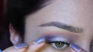 Simple eye & Bold lip | Makeup geek shadows Thumbnail