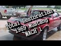 1969 Ford Mustang-Mach 1-TOTAL RESTORATION - LIVE LESSON FRIDAYS