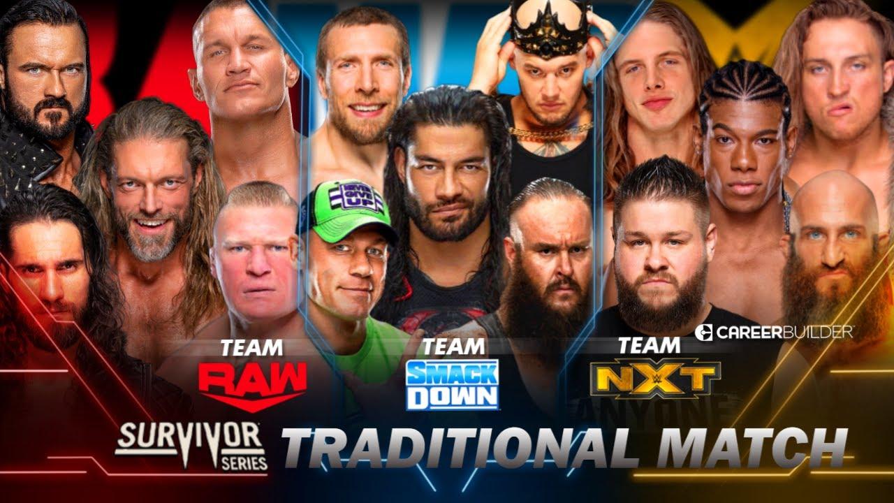 WWE SURVIVOR SERIES 2020 - DREAM MATCH CARD PREDICTIONS | SURVIVOR SERIES  2020 PREDICTION