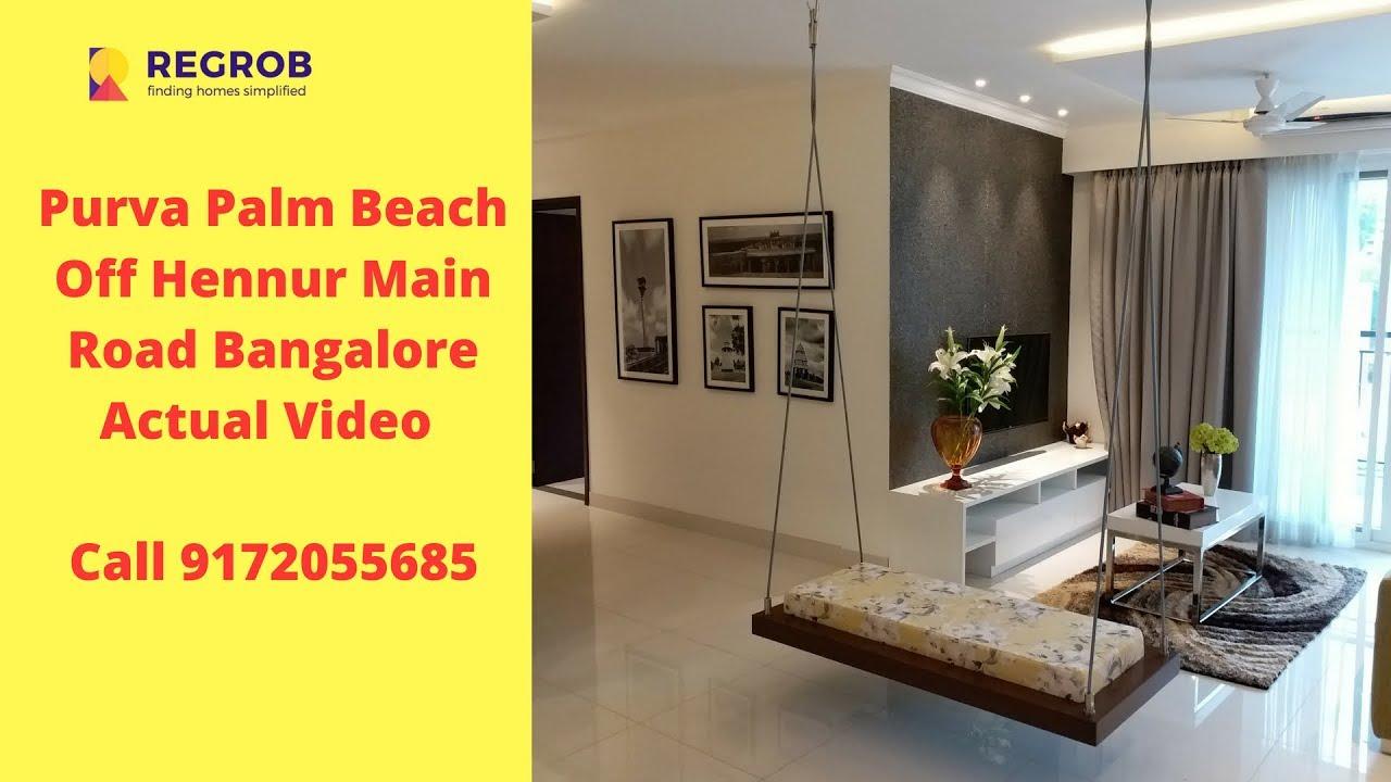Purva Palm Beach Off Hennur Main Road Bangalore | Actual ...