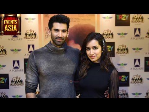 Ok Jaanu Movie Premiere | Shraddha Kapoor, Aditya Roy Kapur | Events Asia