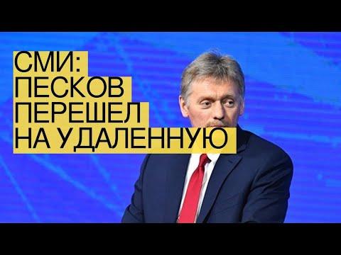 СМИ: Песков перешел наудаленную работу
