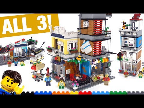 LEGO Creator Townhouse Pet Shop & Cafe 3-in-1 Review! 31097