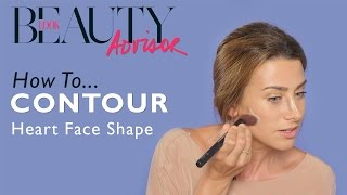 How To Contour For A Heart Face Shape | Tutorial | Look Magazine
