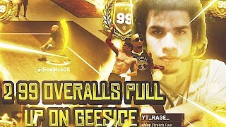 TWO 99 OVERALLS PULL UP ON ME IN THE STAGE! NBA 2K19 GEESICE RETURNS TO THE STAGE/ ANTE UP! VC