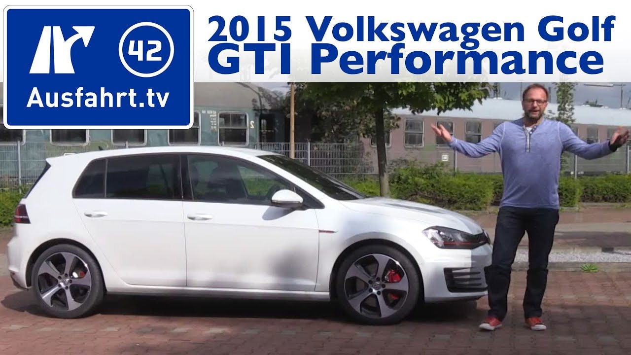 2015 volkswagen golf gti performance kaufberatung test review youtube. Black Bedroom Furniture Sets. Home Design Ideas