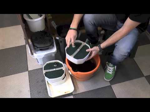 How to properly clean you external filter