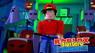ROBLOX - DECORATING MY HALLOWEEN BLOXBERG HOUSE!!