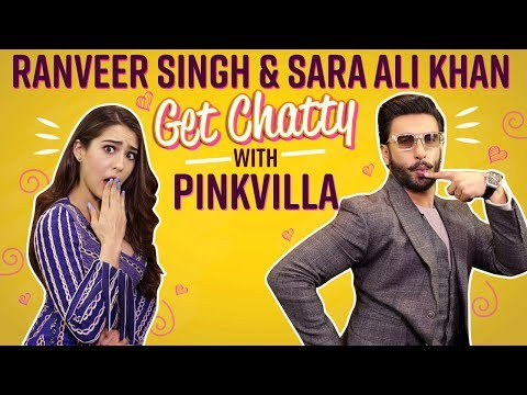 Simmba duo Ranveer Singh and Sara Ali Khan on the Pinkvilla couch  | Pinkvilla | SIMMBA