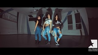 Ciara Ft. Missy Elliott  – Work. Jazz-funk  by Alina Kuherenko. All Star Dance Centre 2015
