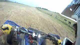 Gopro hd: yamaha banshee test run