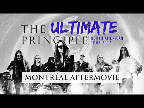 EPICA - Montreal - Aftermovie - The Ultimate Principle Tour (OFFICIAL TOUR TRAILER #2)