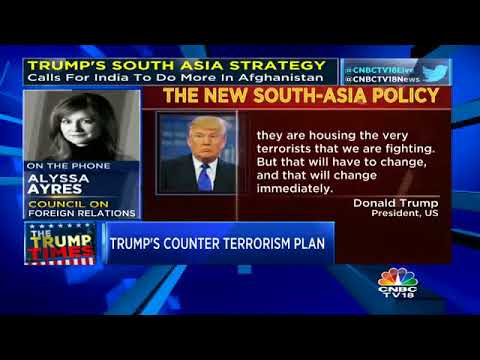 Trump's South Asia Strategy: A Special Discussion With Alyssa Ayres