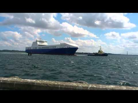 Strait Of Magellan - (Ro/Ro Vessel) Fredericia Part 1