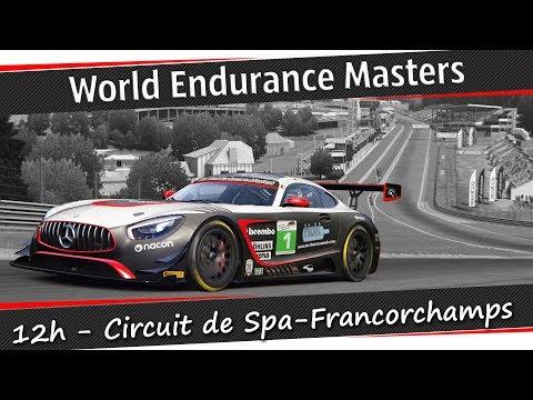 Assetto Corsa - 12 Stunden Langstreckenrennen - Spa-Francorchamps - Rennen 3  [HD] [60FPS]