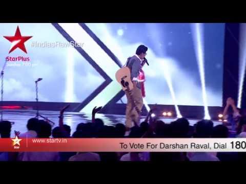 A sneak peek into Darshan's performance on India's Raw Star