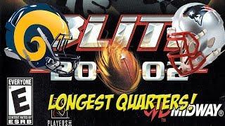 Blitzbowl 2019! Blitz 2002 Longest Quarters! - YoVideogames