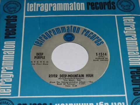 Deep Purple  - River Deep Mountain High  45rpm
