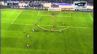 2001 September 26 Schalke Germany 0 Real Mallorca Spain 1 Champions League